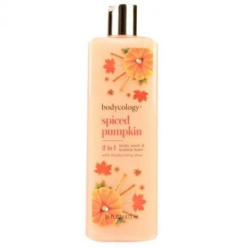 Image For: Bodycology 2 in 1 Body Wash & Bubble Bath, Spiced Pumpkin - 16 oz