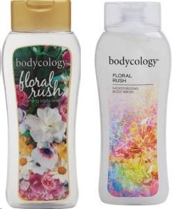Bodycology Foaming Body Wash, Floral Rush - 16 oz