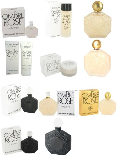Brosseau's Ombre Rose Collection