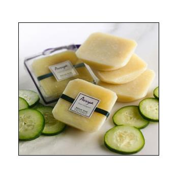 Creamy Cucumber Soap with Grapeseed Oil