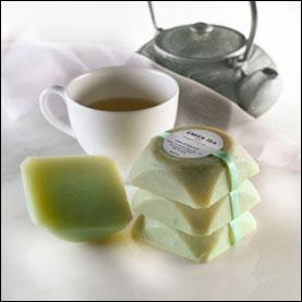 Green Tea Soap with Grapeseed Oil